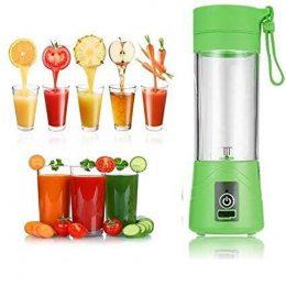 Блендер Smart Juice Cup Fruits USB Зеленый