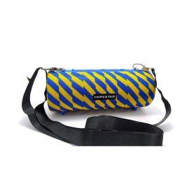 Портативная Bluetooth колонка Hopestar H39 с влагозащитой Синяя с желтым