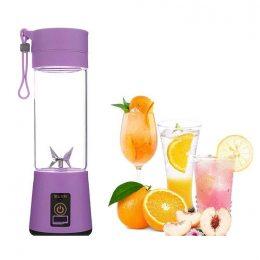 Блендер Smart Juice Cup Fruits USB Фиолетовый