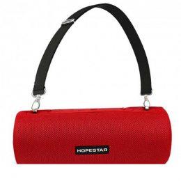 Портативная Bluetooth колонка Hopestar H39 с влагозащитой Красная