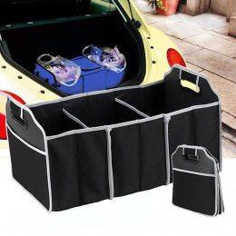 "Органайзер для авто ""Car Boot Organiser"". Сумка - органайзер в багажник автомобиля.(509)"