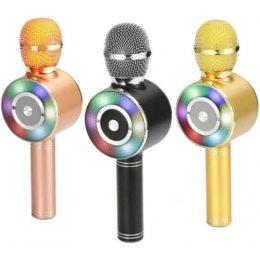 Беспроводной микрофон караоке bluetooth WSTER WS-669(252)