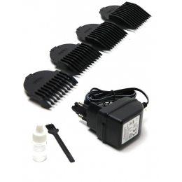 Машинка - триммер для стрижки волос Rozia HQ-238 Серебристый