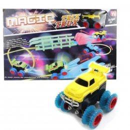 Автотрек Монстр трак популярный игрушечный трек Trix Trux с 1 машинкой