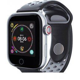 Смарт-часы c пульсометром Z7 Fit Grey silver