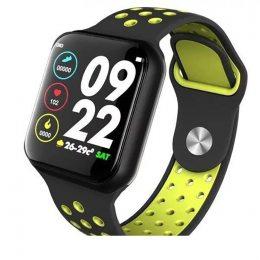Смарт-часы c пульсометром Z7 Fit Black and green