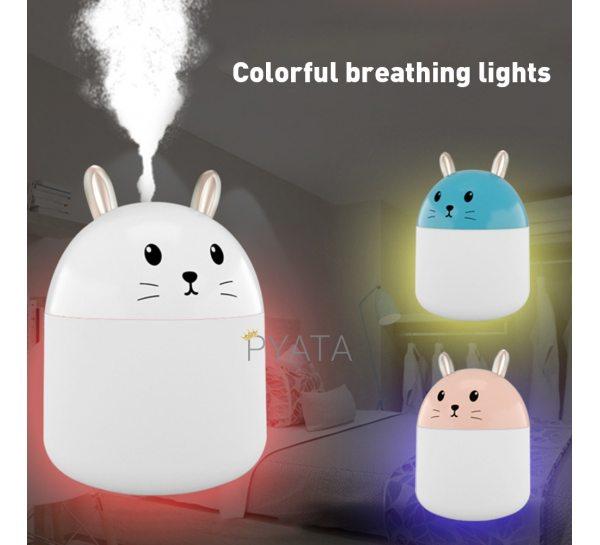 USB увлажнитель воздуха котик Humidifiers / Светильник-диффузор / Ночник(225)