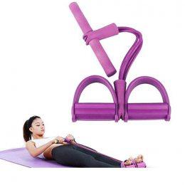 Тренажер для фитнеса Pull Reducer Розовый