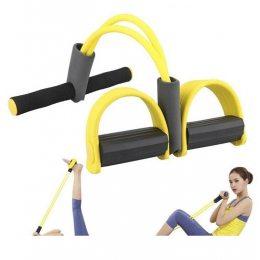 Тренажер для фитнеса Pull Reducer Желтый