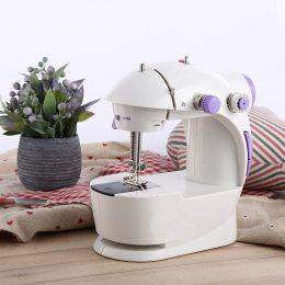 Швейная машинка портативная Mini Sewing Machine FHSM 201 с адаптером