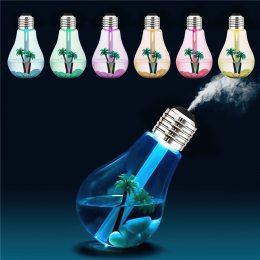 Увлажнитель воздуха Лампочка ночник аромадиффузор (237)