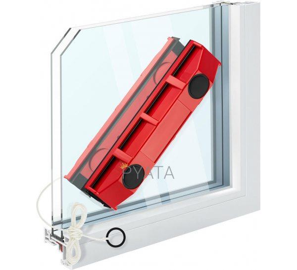 Магнитная щетка для окон Magnet Glass Cleaner The Glider (Не для стеклопакетов)