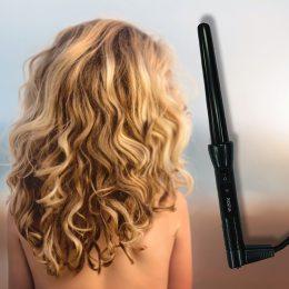 Плойка для укладки, завивки волос Rozia 746A Черная