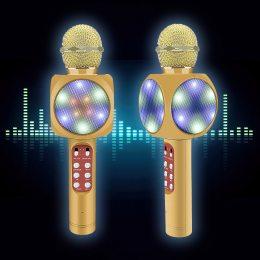 Беспроводной караоке микрофон WS 1816, Портативная колонка