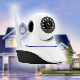 Беспроводная поворотная IP-камера видеонаблюдения Wi-Fi Smart Net Camera Q5 с датчиком движения