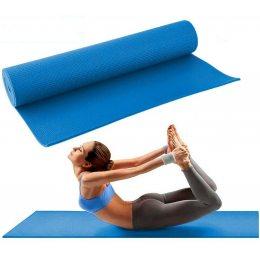 Коврик для йоги, спорта и фитнеса Power System Fitness Yoga Синий