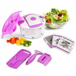Универсальная овощерезка Multi Salad Chef 13 в 1 Мульти Салад Чиф