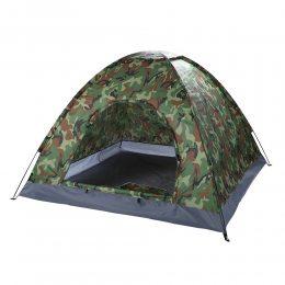 Палатка автоматическая 4-х местная Камуфляж 2 м х 2м