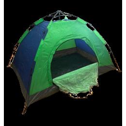 Палатка автоматическая 6-ти местная Синяя 2 м х 2,5м