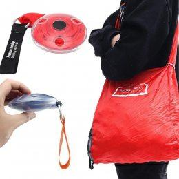Складная компактная сумка-шоппер Shopping bag to roll up Красная