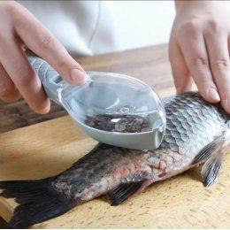 Рыбочистка ручная универсальная Verte-X с контейнером для луски (205)