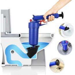 Вантуз пистолет с гидроударом Toilet dredge GUN BLUE (205)