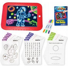 Доска для рисования magic pad deluxe, светодиодный планшет для рисования