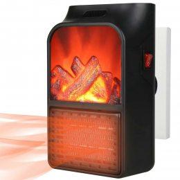Портативный обогреватель Flame Heater 900 Вт