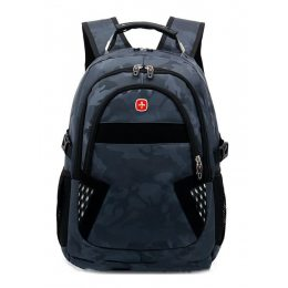 Рюкзак 9363 черный камуфляж