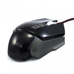 Игровая компьютерная проводная мышка USB Jedel GM770 с подсветкой Чёрный (206)
