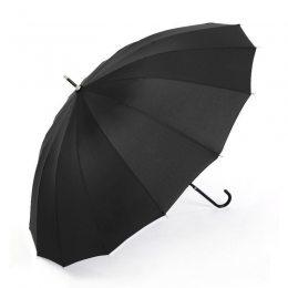 Семейный зонтик трость от дождя (975)