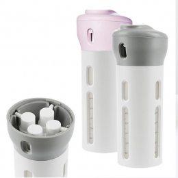 Дорожный органайзер для жидкостей Smart Travel Bottles Set 4 в 1