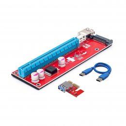 RISER aдaптep PCI-E для видеокарты SATA