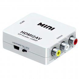 Конвертер HDMI2AV 1080p MINI