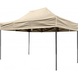 Крыша для садового павильона, шатра, торговой палатки 2х3, бежевая