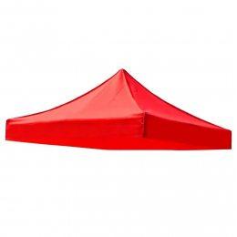 Крыша для садового павильона, шатра, торговой палатки 3х3, красная