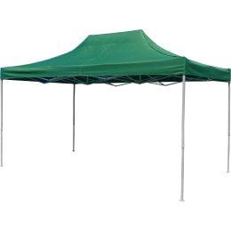 Крыша для садового павильона, шатра, торговой палатки 3х4,5, зелёная
