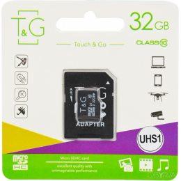 Карта памяти micro TG 32GB class 10 (с адаптером)