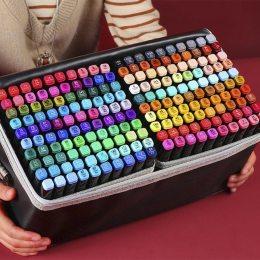 Набор оригинальных двусторонних маркеров Touch 80 штук