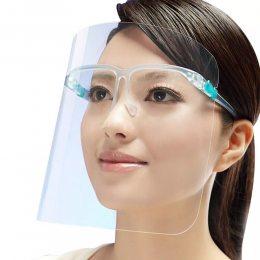 Защитный медицинский щиток экран-маска для лица(30\1)
