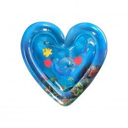 Детский игровой центр Надувной водный коврик в форме сердца