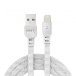 USB-провод GOLF GC-66M Lightning  Белый