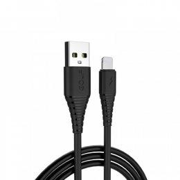 Кабель USB GOLF GC-64 Lightning 1м Черный