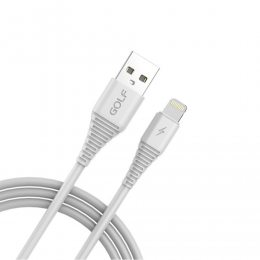 Кабель USB GOLF GC-64 Lightning 1м Белый