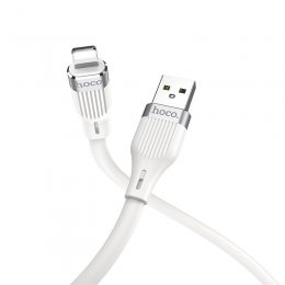 HocoU72 Forest Silicone Lightning Cable Белый