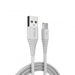 Кабель USB GOLF GC-64 Type-C 1м Белый