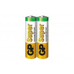 Батарейка GP Super Alkaline AA, LR06,пальчиковая (15/30)