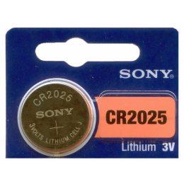 Батарейка CR2025 Sony, таблетка (15/30)