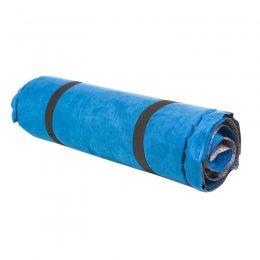 Коврик надувной, 188*64*8см, голубой, велюр  8185-3 (S\H#5)