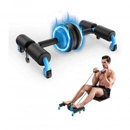 Многофункциональное колесо, ролик для пресса, тренажер для фитнеса, спорта Multifunctional abdominal wheel (237)